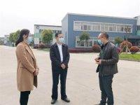 红安县委书记余学武指导千川复工复产和预防疫情工作